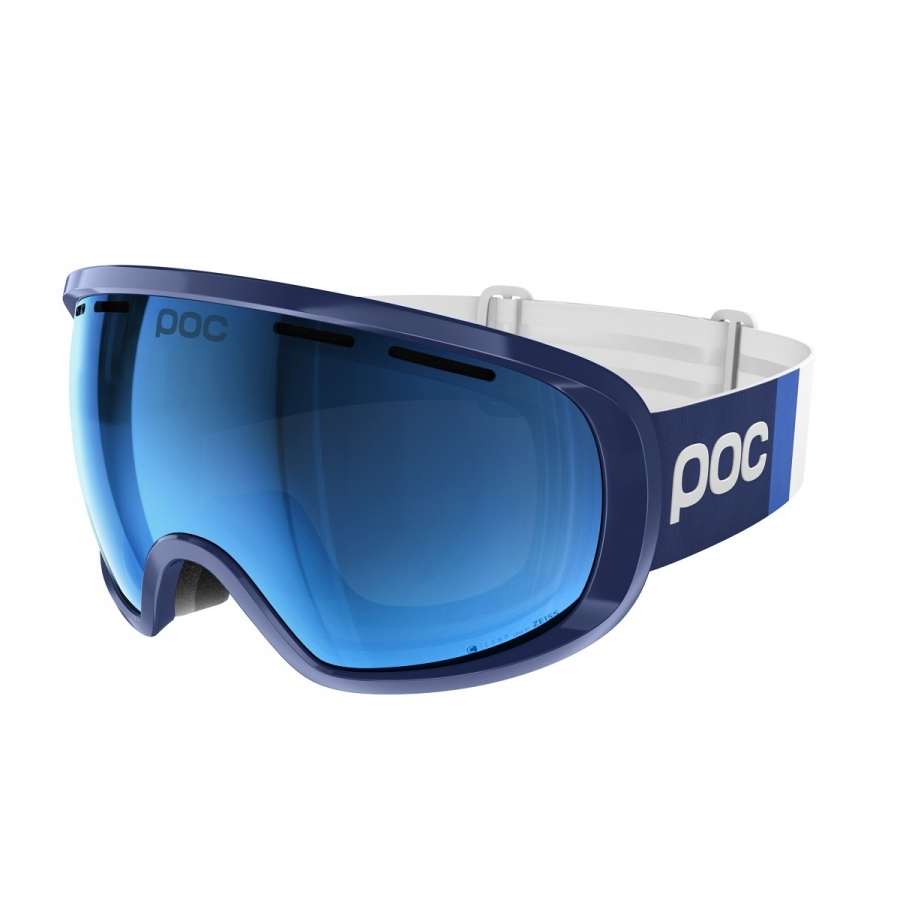 Brýle POC Fovea Clarity Comp Lead Blue 18/19