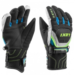 Leki rukavice Worldcup Race Coach Flex S GTX Junior (black-blue) 16/17
