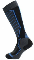 Ponožky Blizzard Profi Ski Socks black/antracit/blue